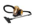 Bodenstaubsauger Arwen 700 Watt - Goldfarben/Schwarz, Kunststoff/Metall (33/23/26cm) - Modern Living