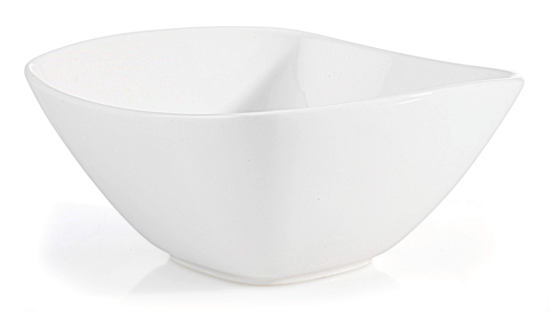 Müslischale Tacoma in Weiß - Weiß, LIFESTYLE, Keramik (14,2/6,8/14,2cm) - PREMIUM LIVING