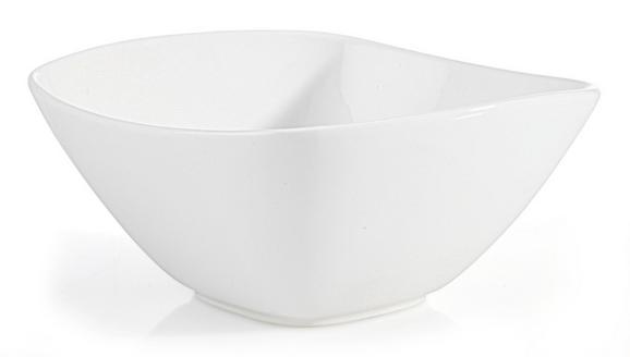 Skodelica Za Kosmiče Tacoma - bela, Trendi, keramika (14,2/6,8/14,2cm) - Premium Living