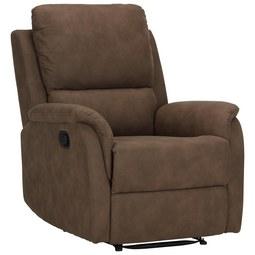 Relaxsessel in Braun mit Relaxfunktion - Braun, KONVENTIONELL, Kunststoff/Textil (80-78/101-80/90-159cm) - Modern Living