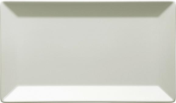Platte Manhattan City Beige - Beige, MODERN, Keramik (25,2/2,2/14,7cm)