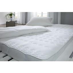 Unterbett Visco Weiß 90x200cm   Weiß, Textil (90/200cm)   Nadana