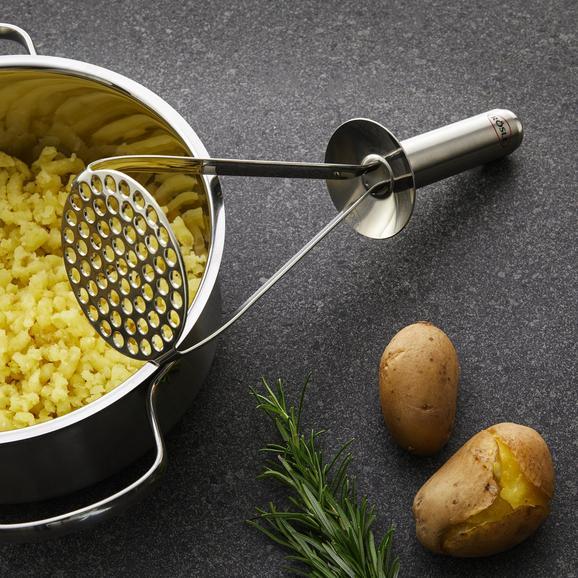 Kartoffelstampfer Rösle - Edelstahlfarben, KONVENTIONELL, Metall (29/9/8,4cm) - Rösle