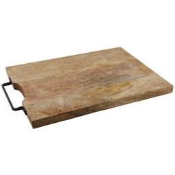 Schneidebrett BBQ aus Mangoholz - Holz (47/26/2,1cm)