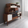 SIDEBOARD in Mulitcolor 'Heather' - Multicolor, MODERN, Holz (125/105/35cm) - Bessagi Home