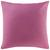 Zierkissen Zippmex in Flieder ca. 50x50cm - Flieder, Textil (50/50cm) - Based