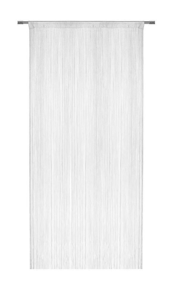 Fadenstore Franz Weiß - Weiß, Textil (90/245cm) - MÖMAX modern living