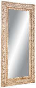 Wandspiegel ca. 90x180x3,5cm - Hellrosa/Weiß, LIFESTYLE, Glas/Holz (90/180/3,5cm) - Premium Living