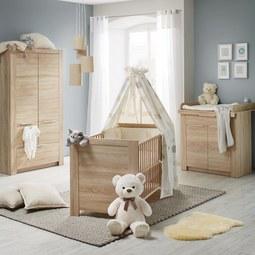 Babyzimmer Carlotta - Eichefarben, KONVENTIONELL