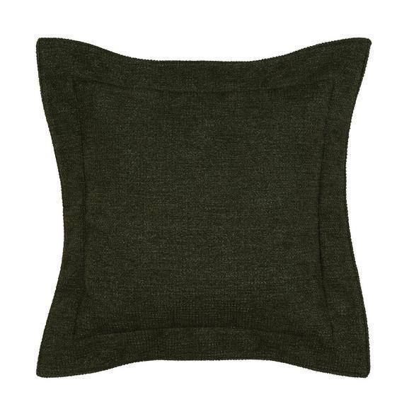 Zierkissen in Grün ca. 50x50cm - Grün, KONVENTIONELL, Textil (50/50cm) - Premium Living