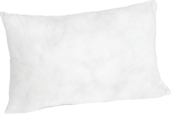 Párna Pia - fehér, textil (25/45cm)