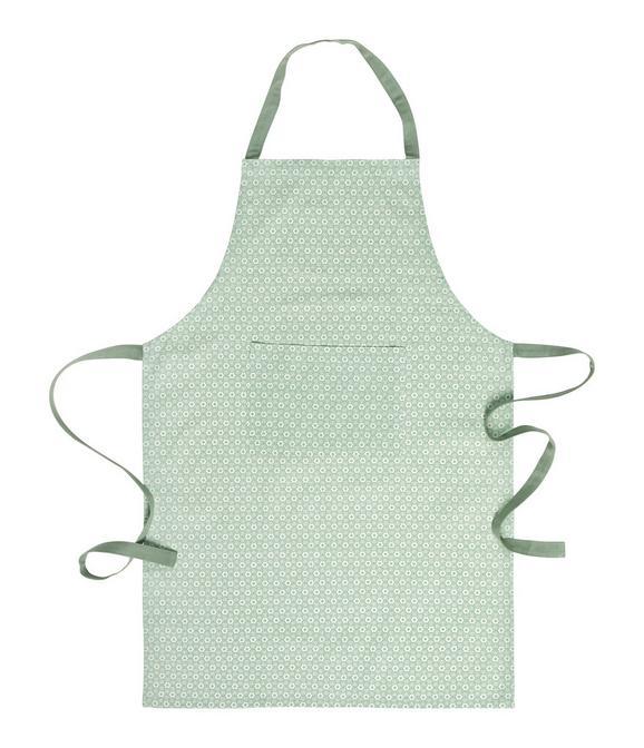 Predpasnik Ameline - svetlo zelena, Romantika, tekstil (60/90cm) - Zandiara