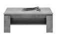 Couchtisch Betonoptik - Grau, MODERN, Holzwerkstoff (110/43/67cm) - Modern Living