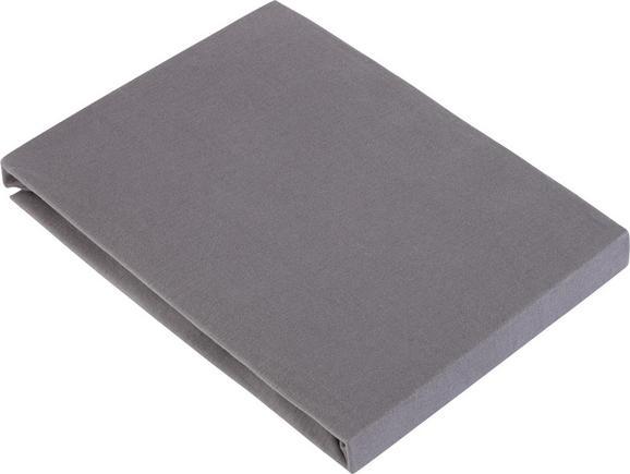Spannbetttuch Basic ca. 100x200cm - Grau, Textil (100/200cm) - Mömax modern living