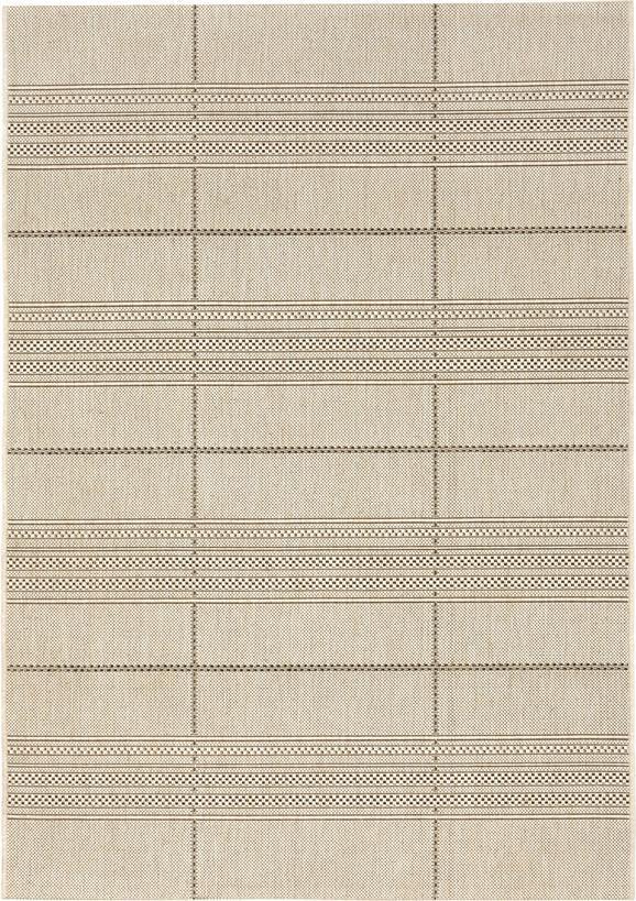 Flachwebeteppich Essenza in Natur, ca. 80x250cm - Naturfarben, MODERN, Textil (80/250cm) - MÖMAX modern living