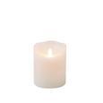 Lumânare  Cu Led Mara - alb, plastic (10/12,5cm) - Modern Living
