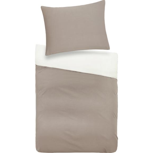 Lenjerie De Pat Belinda - crem/gri, textil (70/90cm) - Premium Living