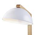 Tischleuchte max. 40 Watt 'Lina' - MODERN, Holz/Metall (20/37,5cm) - Bessagi Home