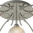 Deckenleuchte Bovary mit LED 7-flammig - Chromfarben, MODERN, Glas/Metall (65/20cm) - Bessagi Home