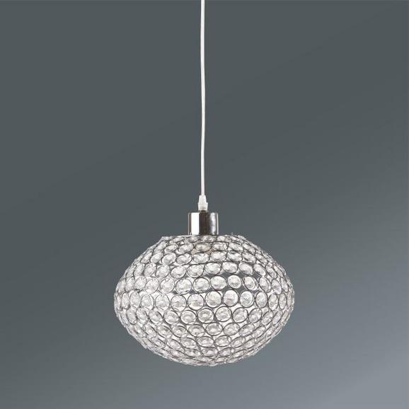 Hängeleuchte Luca, max. 60 Watt - Chromfarben, MODERN, Kunststoff/Metall (23/120cm) - Mömax modern living