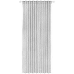 Fertigvorhang Sigrid Grau 140x245cm - Grau, ROMANTIK / LANDHAUS, Textil (140/245cm) - Premium Living
