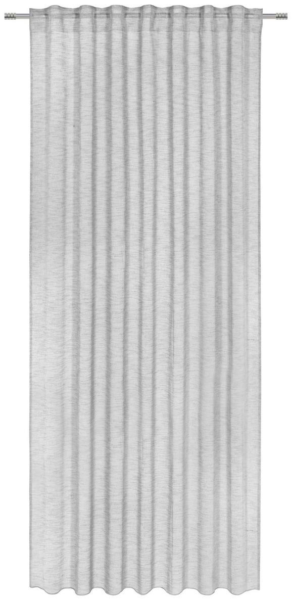 Končana Zavesa Sigrid - siva, Romantika, tekstil (140/245cm) - Premium Living