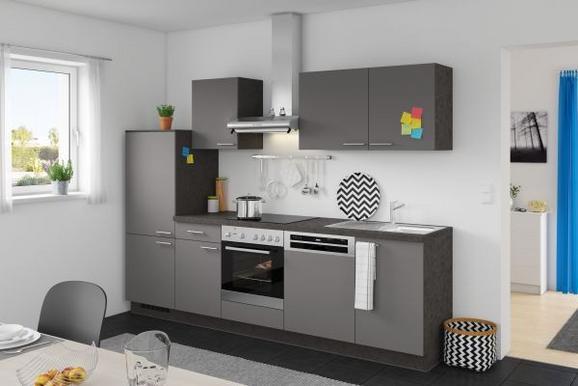 Kuhinjski Blok Win/plan - antracit, Moderno, leseni material (280cm) - Express
