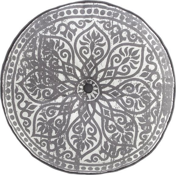 Blazina Za Tla Marakesh - siva, Trendi, tekstil (50cm) - Mömax modern living