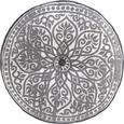 Bodenkissen Marakesh Grau ca. 50cm - Grau, LIFESTYLE, Textil (50cm) - Mömax modern living
