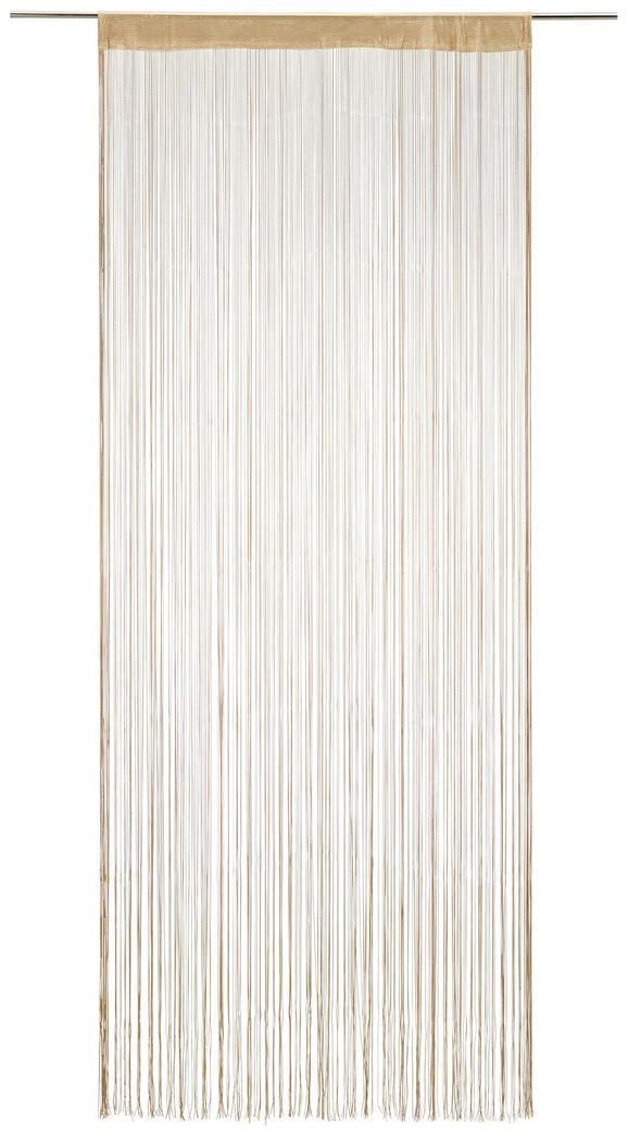 Nitasta Zavesa Franz - bež, tekstil (90/245cm) - Mömax modern living