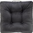Sitzkissen Miley 45x45cm - Grau, MODERN, Textil (45/45/8cm) - Modern Living