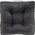 Sitzkissen Miley ca.45x45cm in Grau - Grau, MODERN, Textil (45/45/8cm) - Modern Living