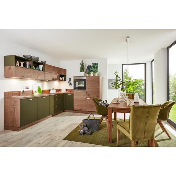 Eckküche Manhattan Uni/timber Olive online kaufen ➤ mömax