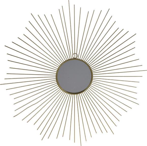 Wanddeko Sara Goldfarben - Goldfarben, Design, Metall (64cm)