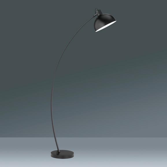 Állólámpa Recife - fekete, Lifestyle, fém (150cm)