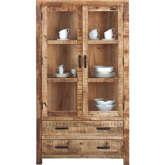 Vitrină Industry - culoare natur, Lifestyle, lemn (100/180/42cm) - Zandiara