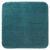 Badematte Juliane Petrol - Petrol, Textil (50/50cm) - Premium Living