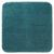 Badematte Petrol - Petrol, MODERN, Textil (50/50cm) - Premium Living