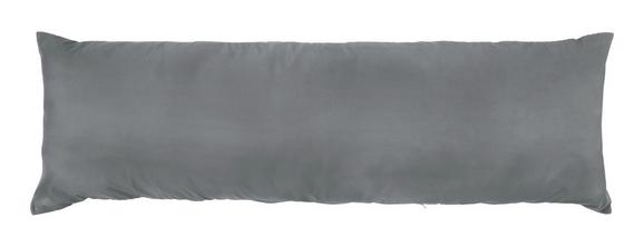Kissenhülle Lisi, ca. 40x150cm - Anthrazit/Weiß, Textil (40/120cm) - Mömax modern living