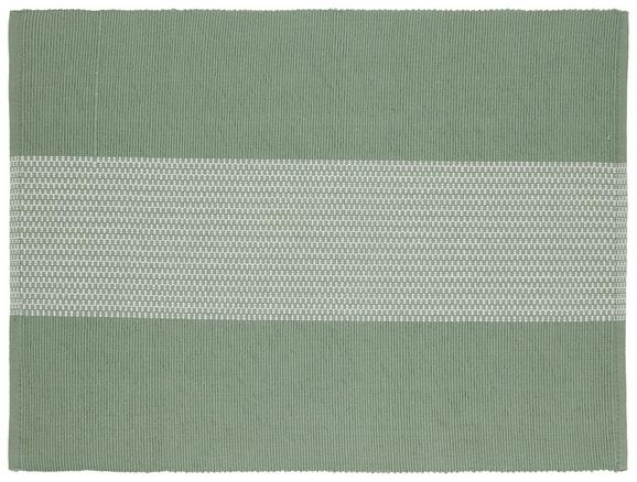 Tischset Lisa in Dunkelgrün - Dunkelgrün, MODERN, Textil (33/45cm) - Mömax modern living