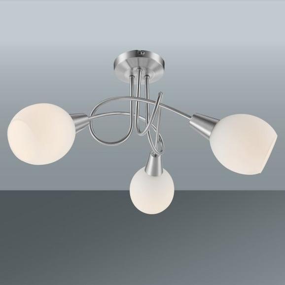 Deckenleuchte Samuel, Max. 3x4 Watt - KONVENTIONELL, Glas/Metall (39/24,6cm) - Mömax modern living