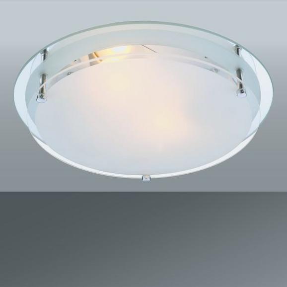 Deckenleuchte Adam, max. 60 Watt - KONVENTIONELL, Glas/Metall (31.5/7.5cm) - Mömax modern living