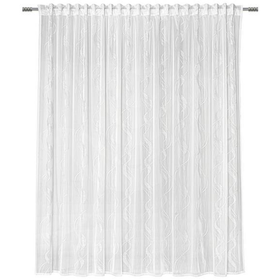 Fertigvorhang Wave Store Weiß 300x245cm - Weiß, Textil (300/245cm) - Mömax modern living