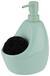 Seifenspender Ute Mintgrün - Mintgrün, MODERN, Keramik/Kunststoff (12,7/10,2/20,3cm) - Premium Living