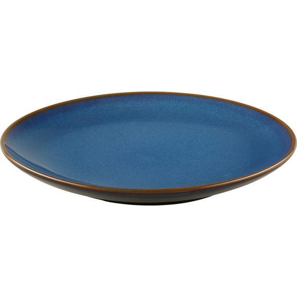 Desertni Krožnik Uri - modra, Trendi, keramika (20,5cm) - Mömax modern living