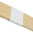 Stehleuchte max. 40 Watt 'Nerea' - Naturfarben/Weiß, MODERN, Holz/Metall (87/22/150cm) - Bessagi Home