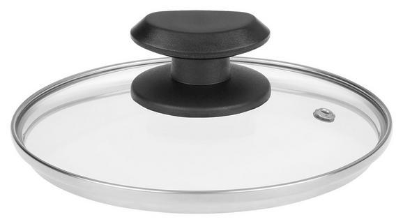 Pokrov Gerry - črna/prozorna, umetna masa/steklo (16cm) - Mömax modern living