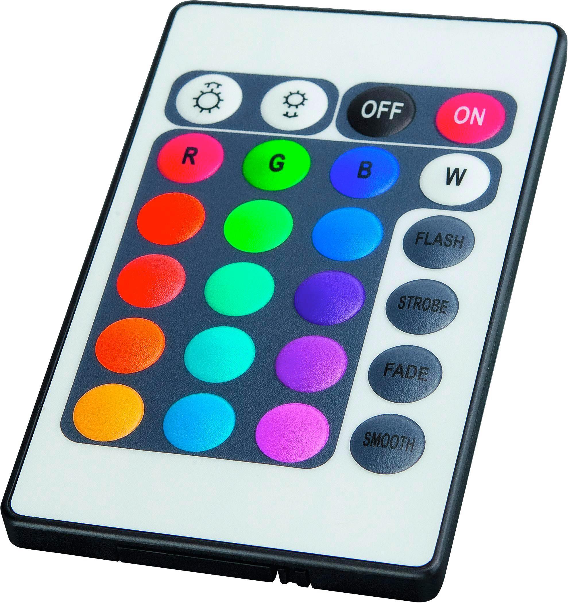 LED-Dekoleuchte Karl, max. 0,16 Watt - Multicolor, Kunststoff (500cm) - MÖMAX modern living