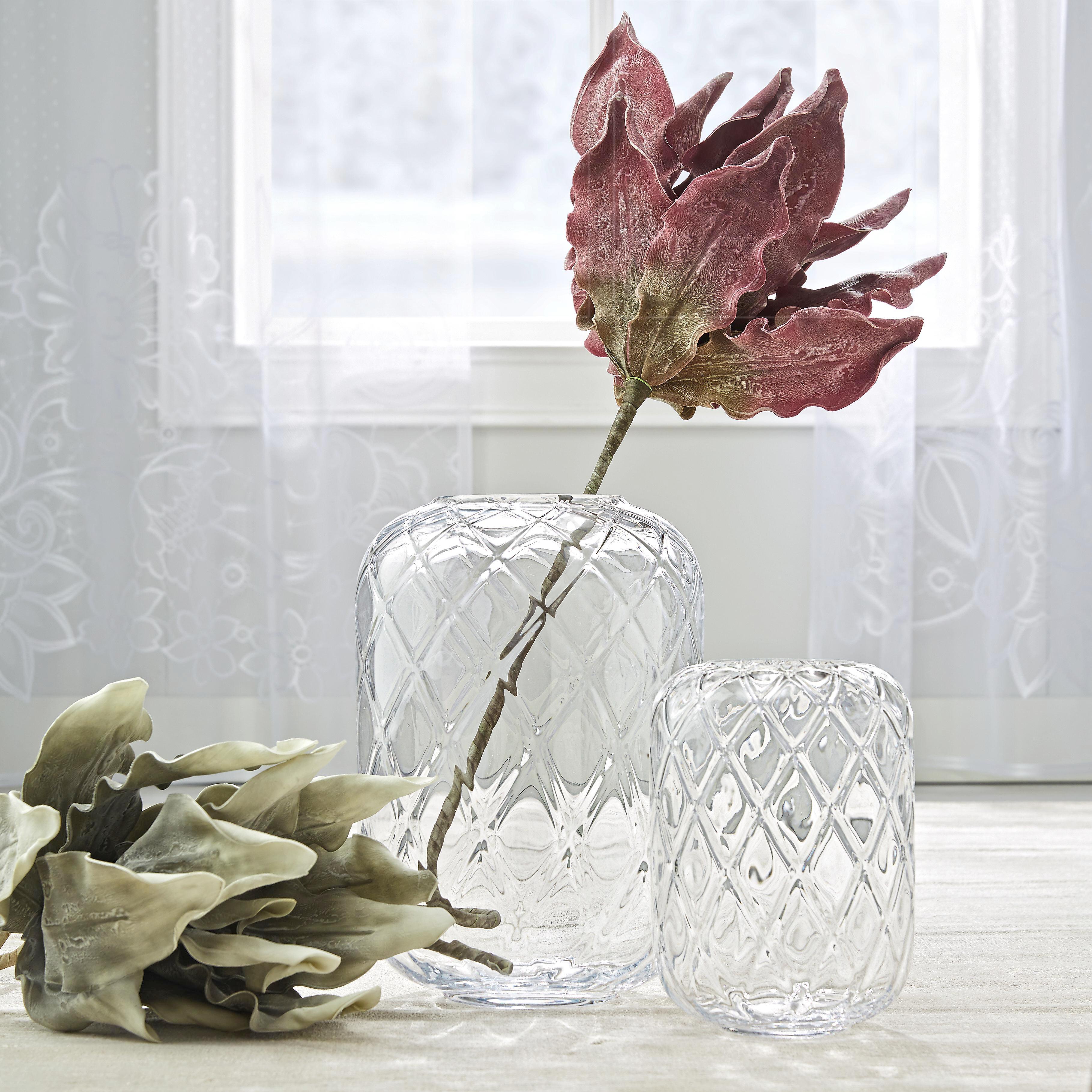 Váza Anett - tiszta, romantikus/Landhaus, üveg (24/34cm) - MÖMAX modern living