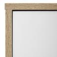 Schuhschrank Basic 2 - Eichefarben/Weiß, MODERN, Holz (80/109/40cm) - Modern Living